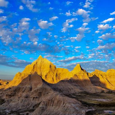 Morning in the Badlands