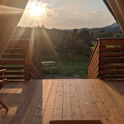 Glamping in the Black Hills