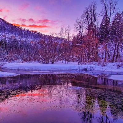 Hourglass Sunset