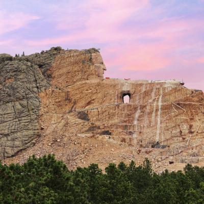 Crazy Horse Sunset