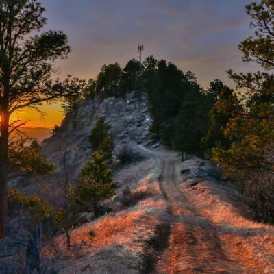 Sunset on Lookout Mountain