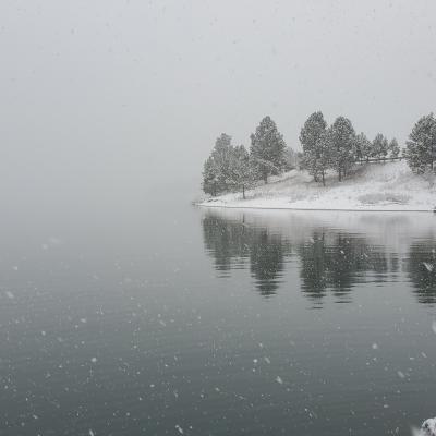 Pactola Spring Snow