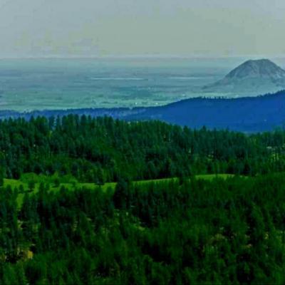 Bear Butte From Afar