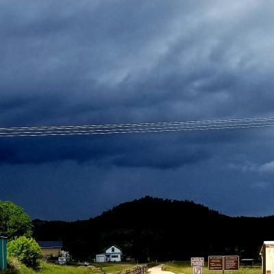 Storm North of Pringle