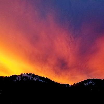 Beautiful Deadwood Sky