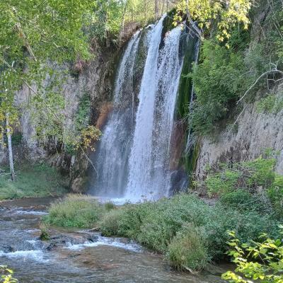 Beautiful Waterfalls Below Latchstring Inn