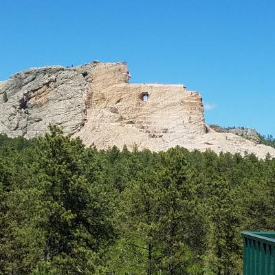 A View of Crazy Horse