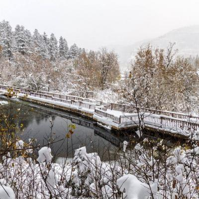 Snow in Spearfish Canyon