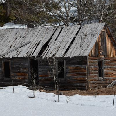 Old Cabin in the Hills