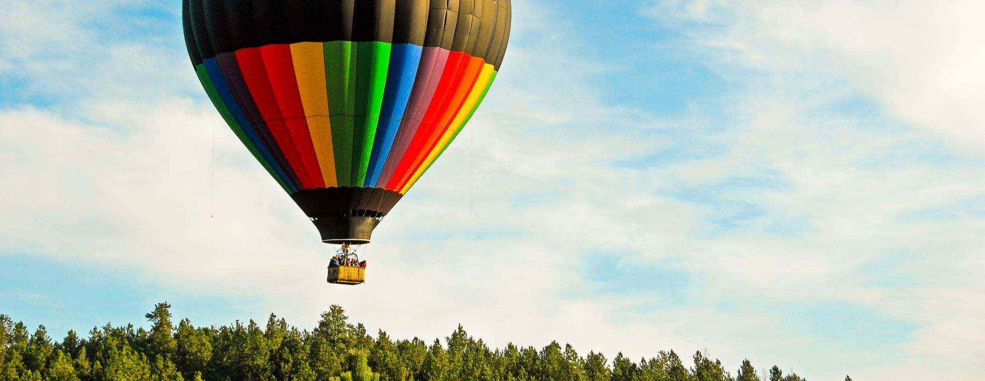 Flying with Black Hills Balloons — You Should See the Hills from Here