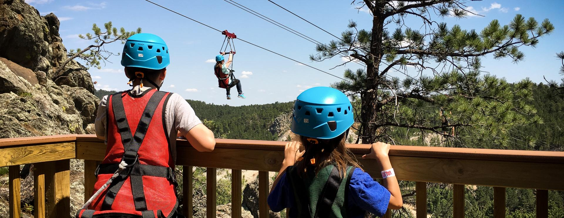 Up into the Tree Tops: Part 2 - The Pinnacle Zip Tour