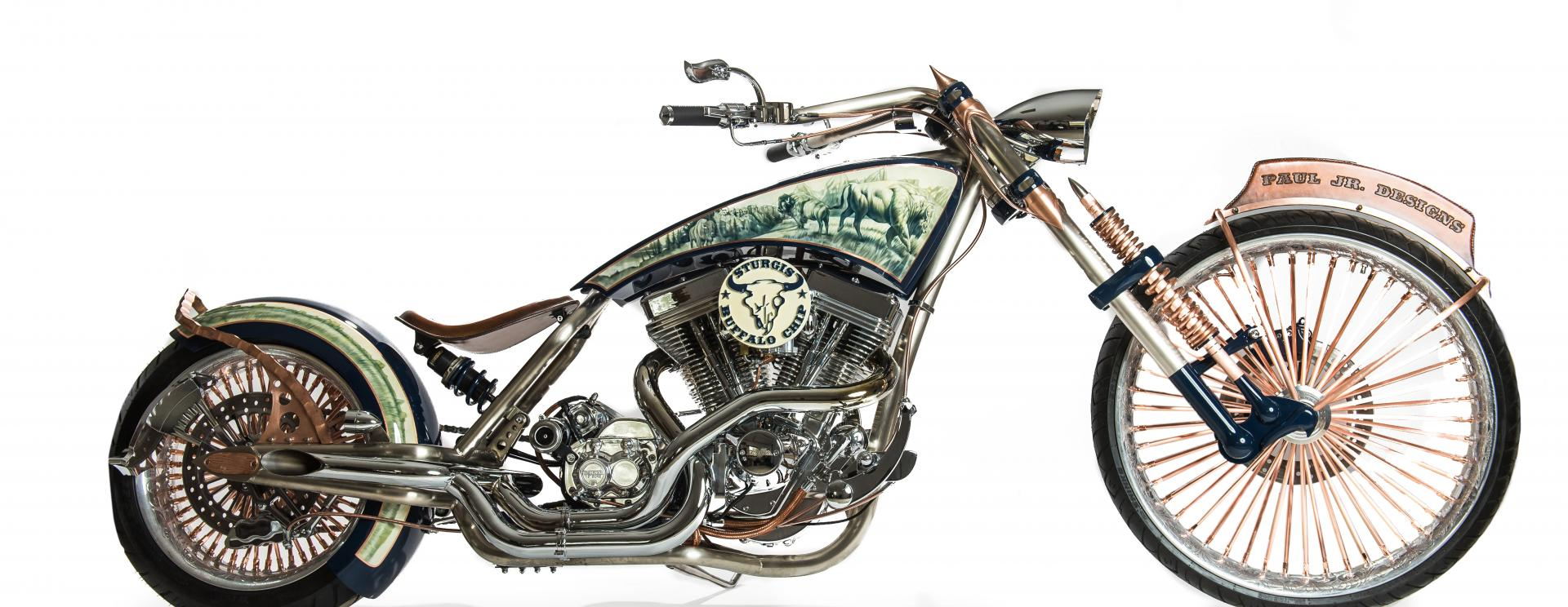 """Set in the Black Hills: """"American Chopper"""" features the Sturgis Buffalo Chip®"""