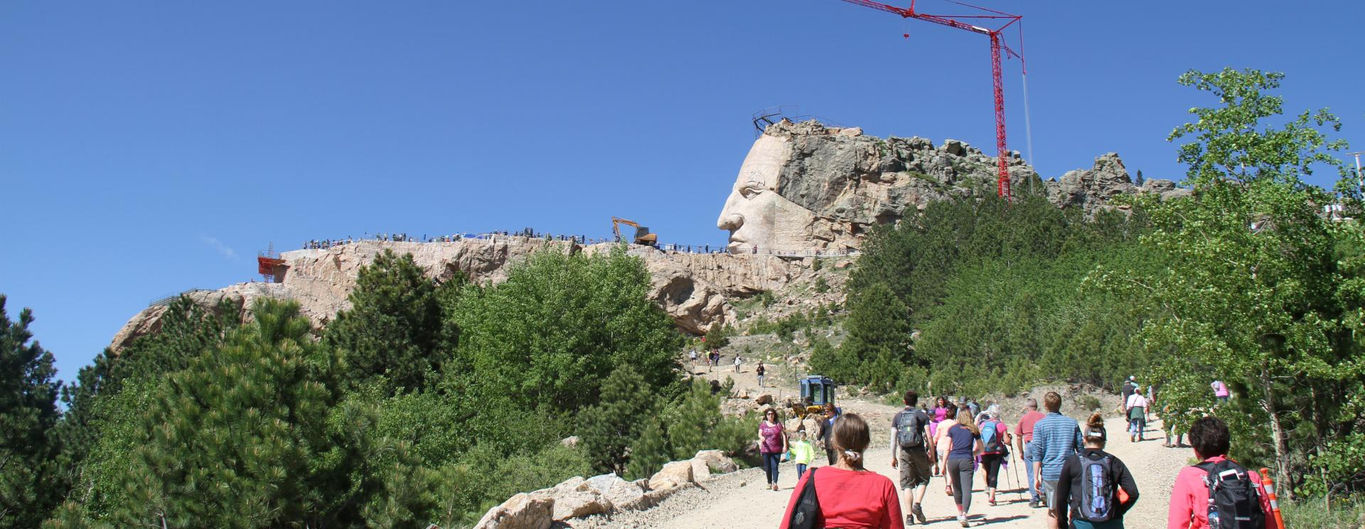 Take in the feel of autumn with the Crazy Horse Volksmarch