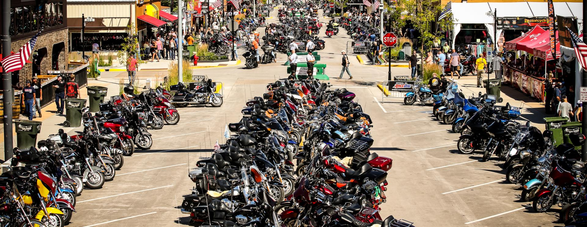 Day 1 of the 79th Sturgis Motorcycle Rally