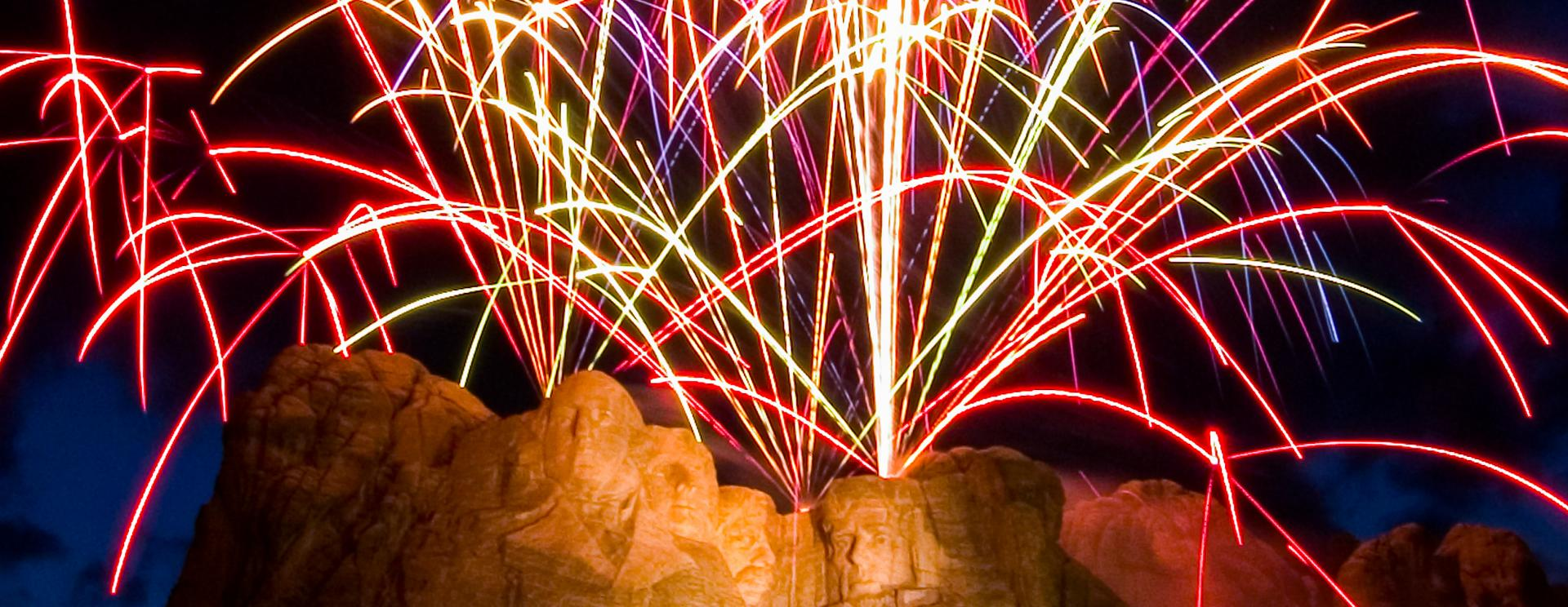 A Monumental Occasion: Fireworks Return to Mount Rushmore
