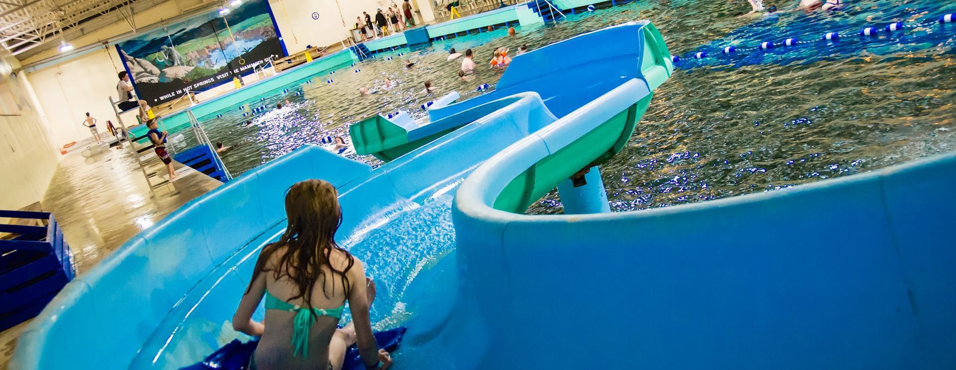 Wet & Wild Fun at Evans Plunge Mineral Springs