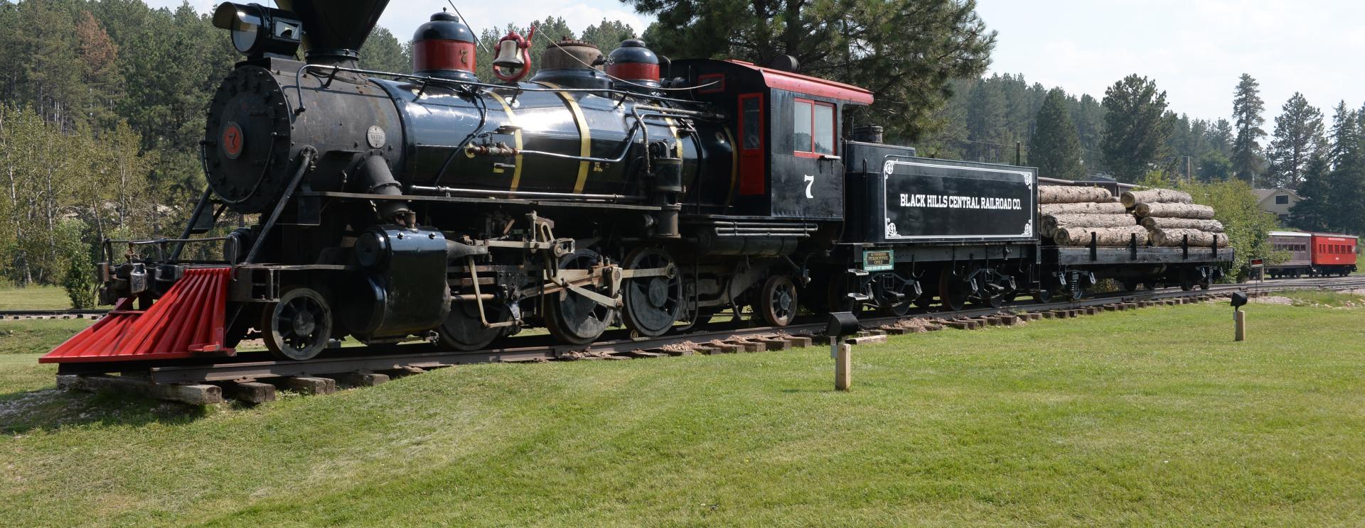 1880 Train - Black Hills Central Railroad