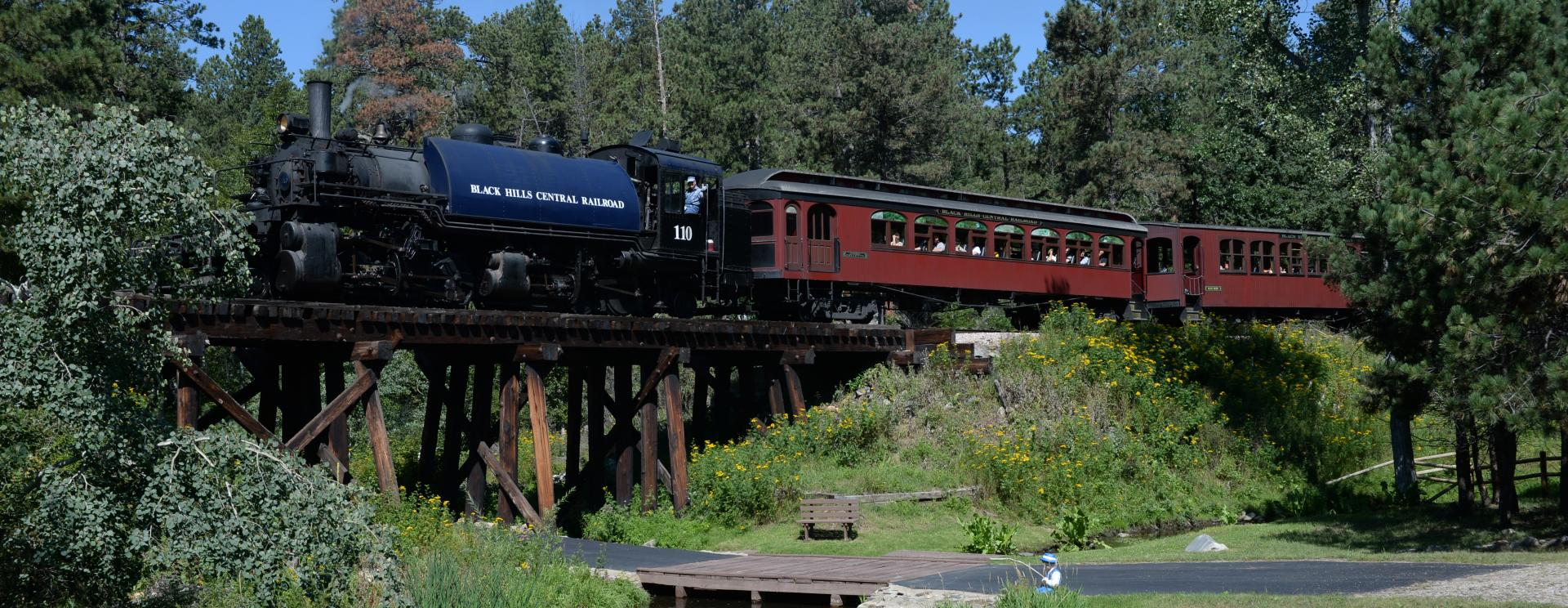 1880 Train - Black Hills Central Railroad