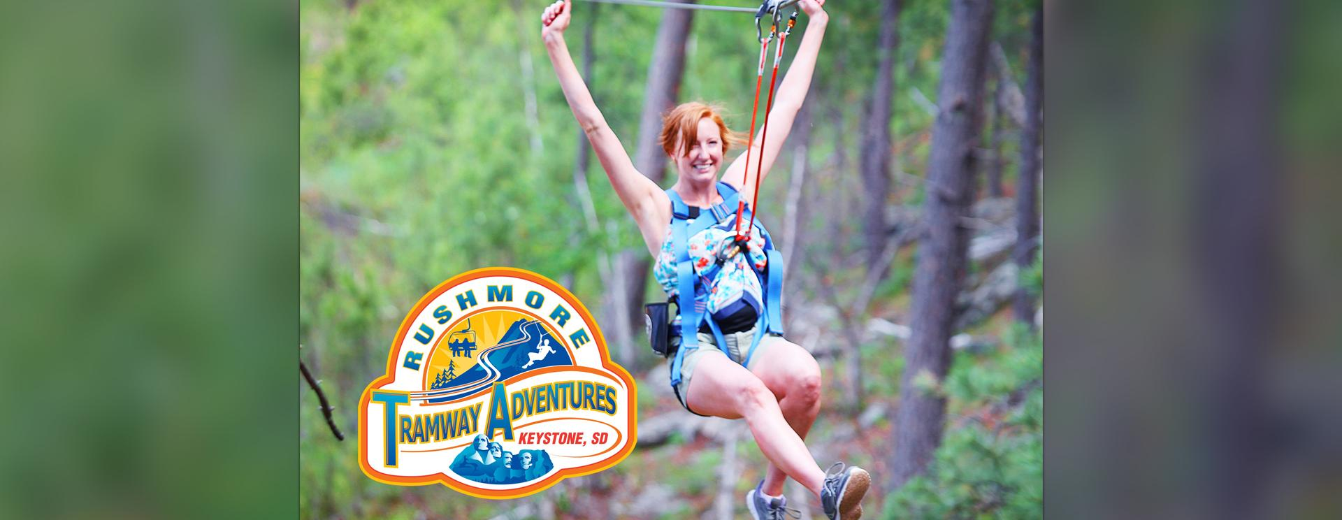 Aerial Adventure Park at Rushmore Tramway Adventures