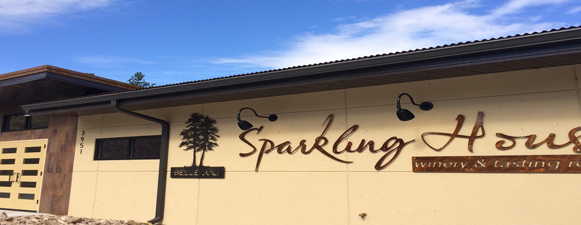 Belle Joli Winery Sparkling House