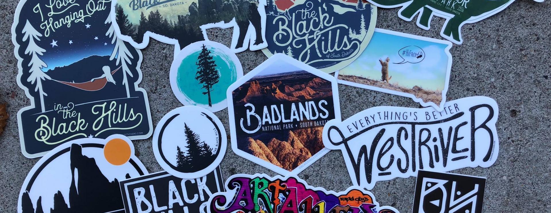 Black Hills Stickers & Apparel