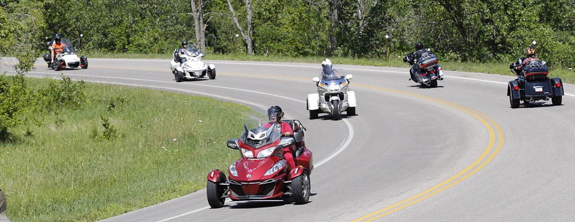 Deadwood 3 Wheeler Rally