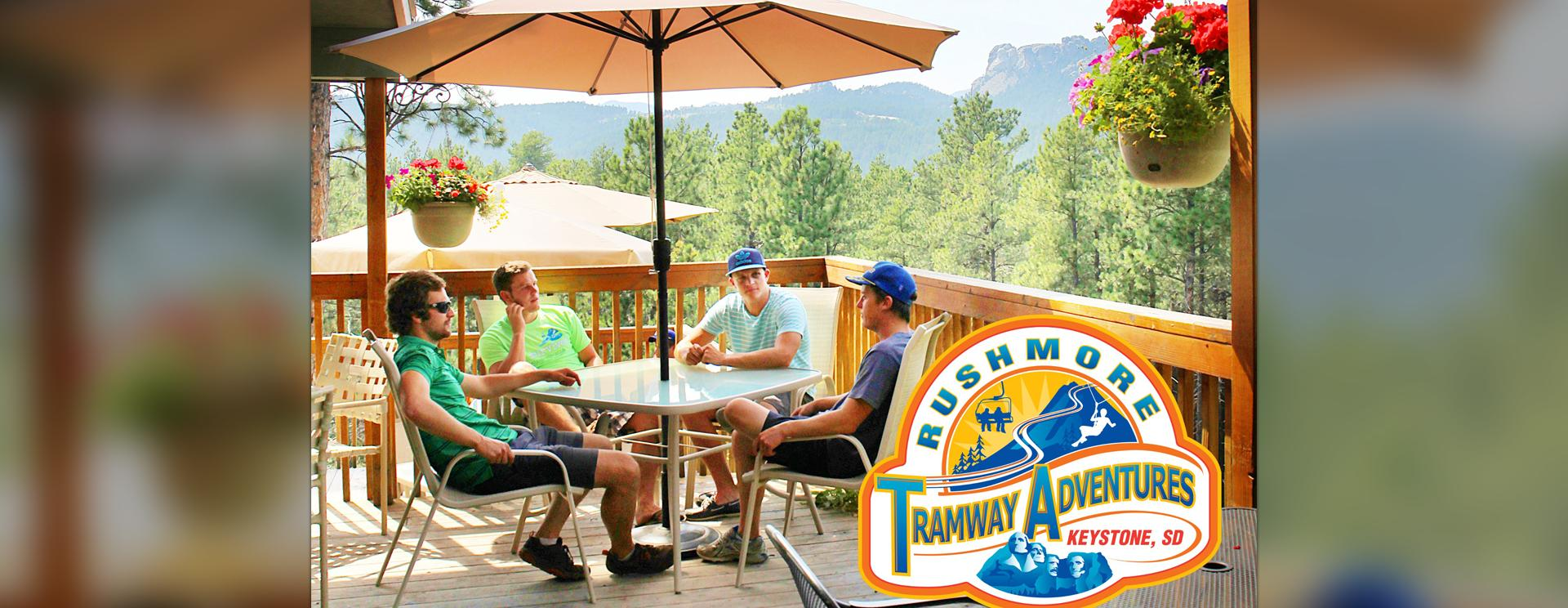Mountaintop Grille at Rushmore Tramway Adventures*