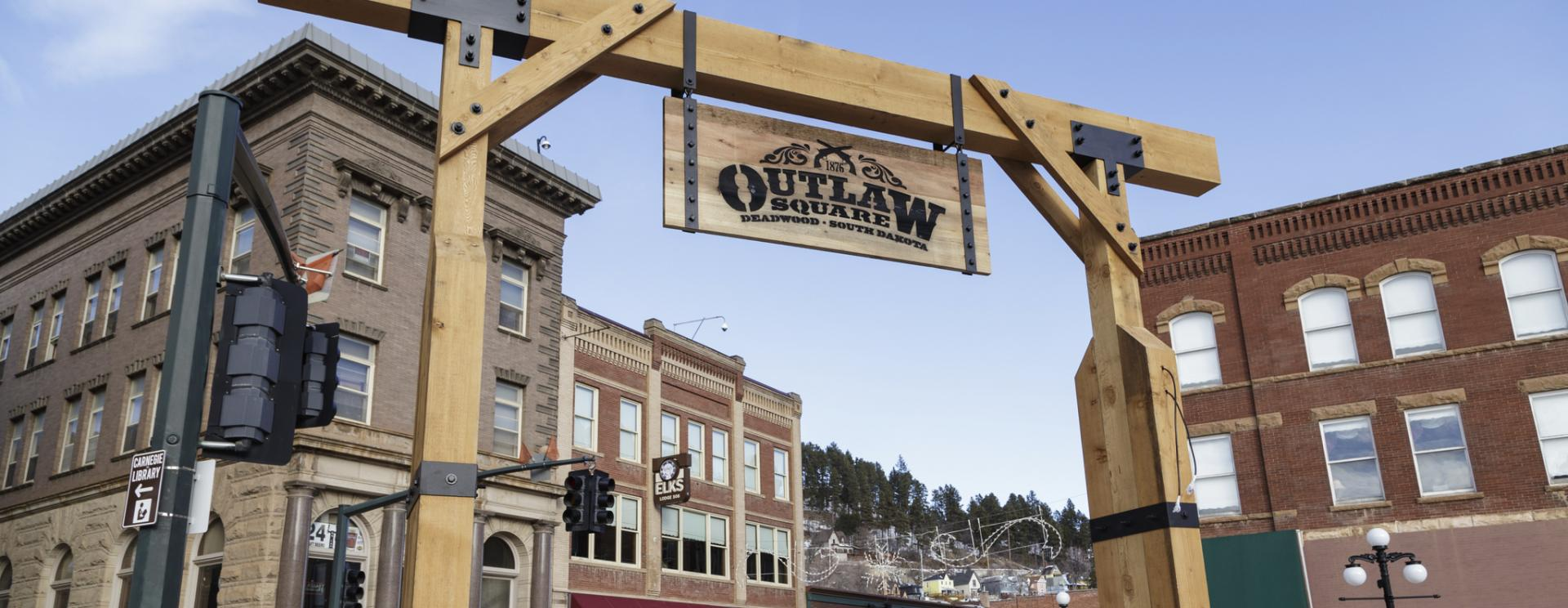 Outlaw Square - Deadwood
