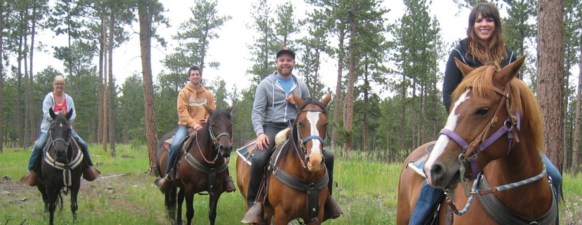 Trail Rides at High Country Guest Ranch
