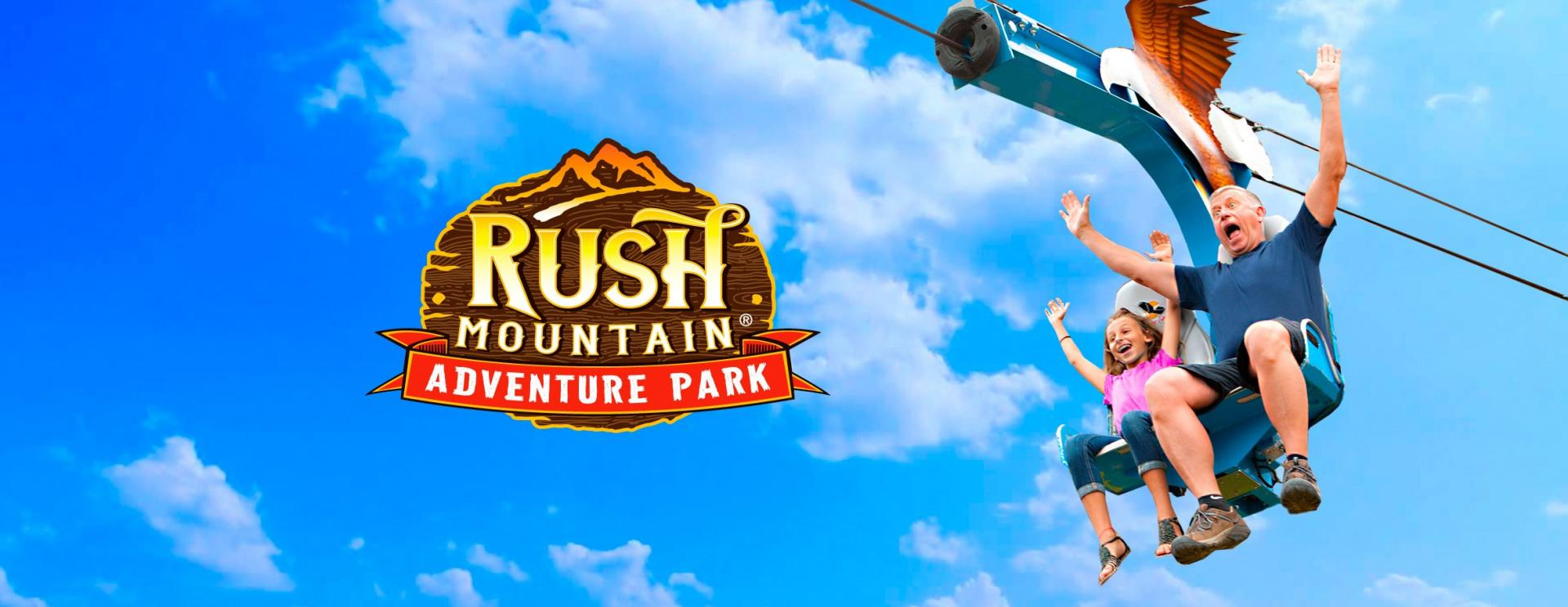 Father's Day Adventures at Rush Mountain Adventure Park