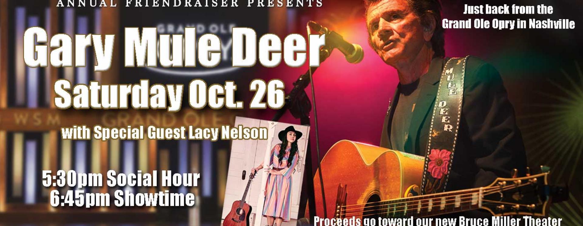 Gary Mule Deer in Concert