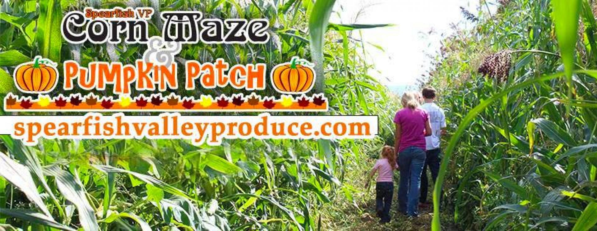 Spearfish Corn Maze and Pumpkin Patch