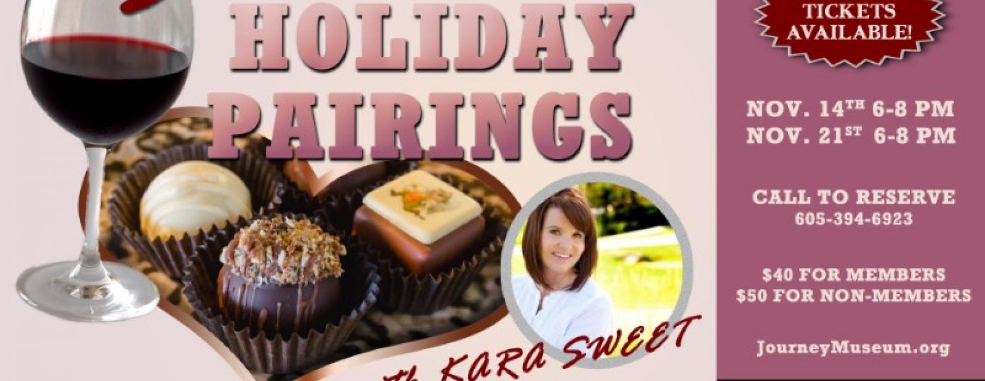 Sweet Holiday Pairings