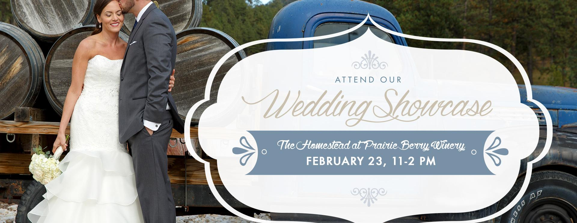 Wedding Showcase at The Homestead at Prairie Berry Winery