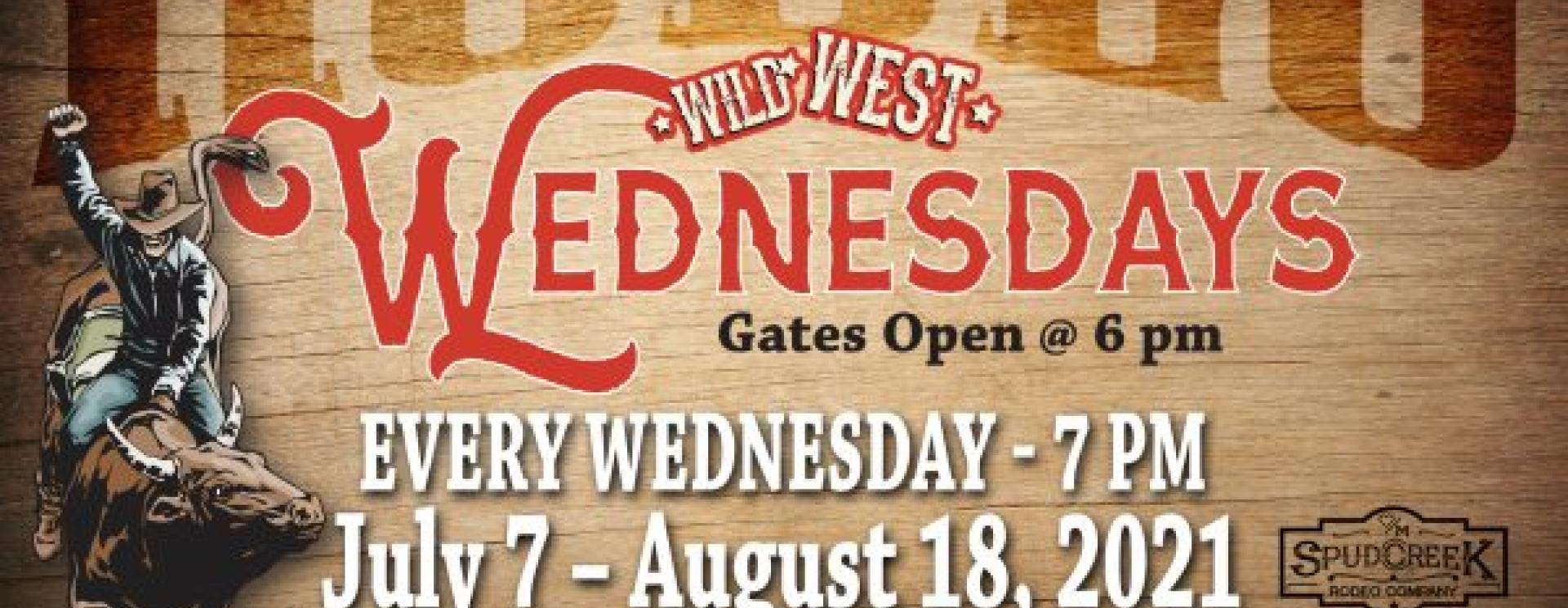 Wild West Wednesdays Rodeos at Hart Ranch