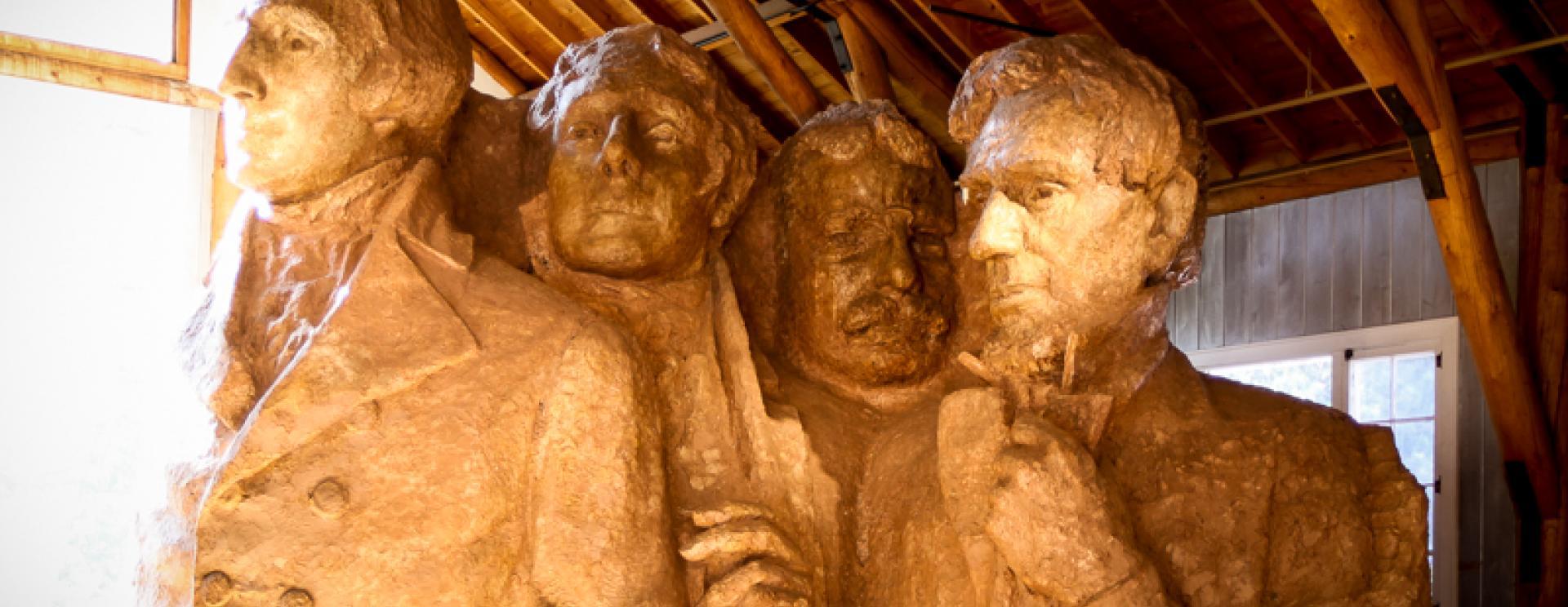 The Sculptor's Studio at Mount Rushmore National Memorial