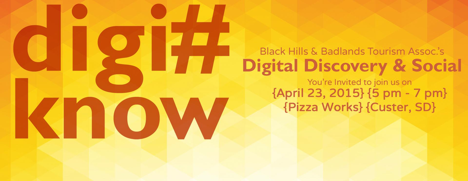 Are you in the #Know? | Digi#Know Social & Seminar