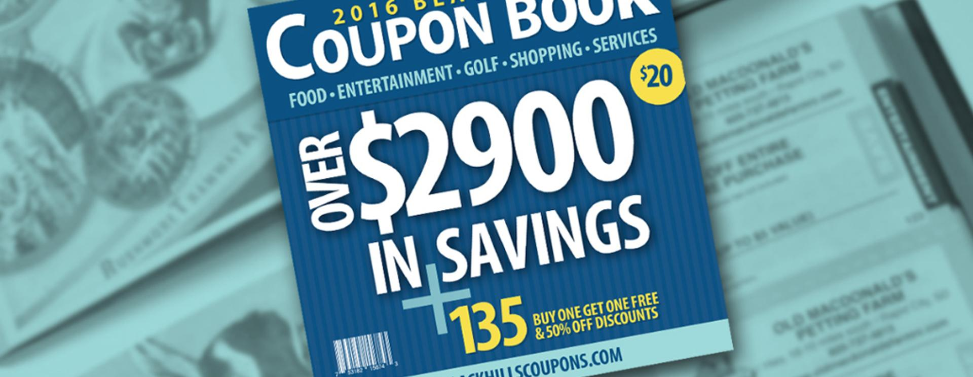 BH&B Corporate Partner: Black Hills Coupon Book