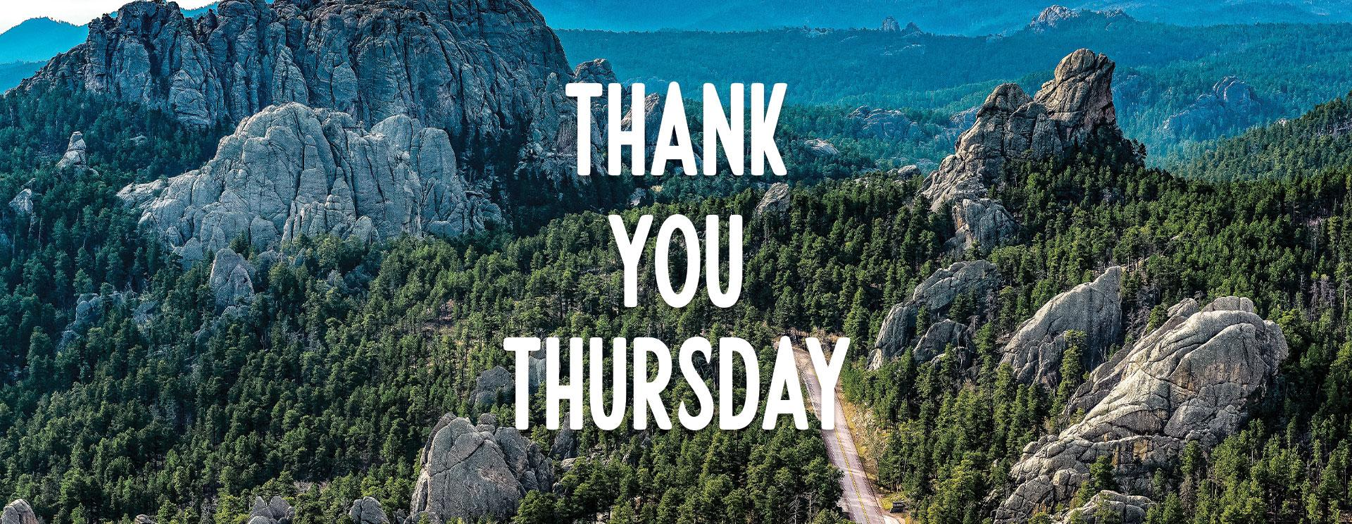 Thank You Thursday ∙ New Members ∙ Jan. 7, 2021