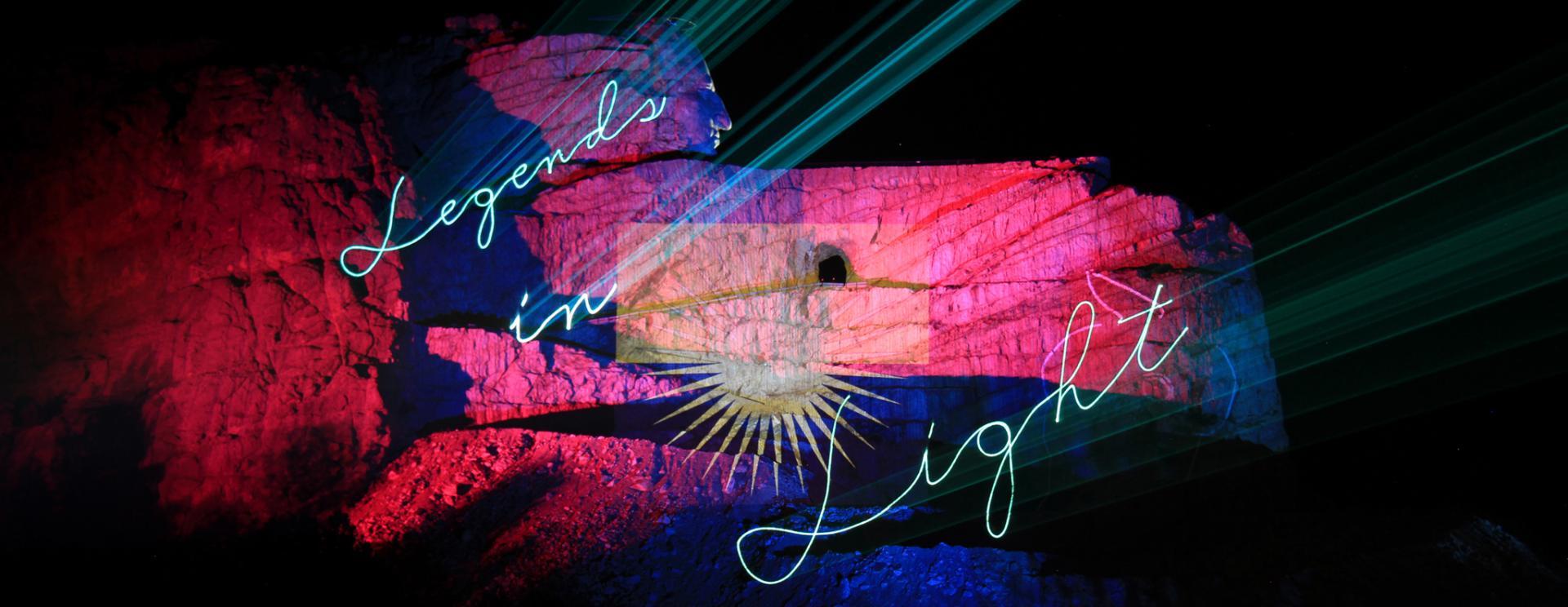 Legends in Light   Crazy Horse Memorial