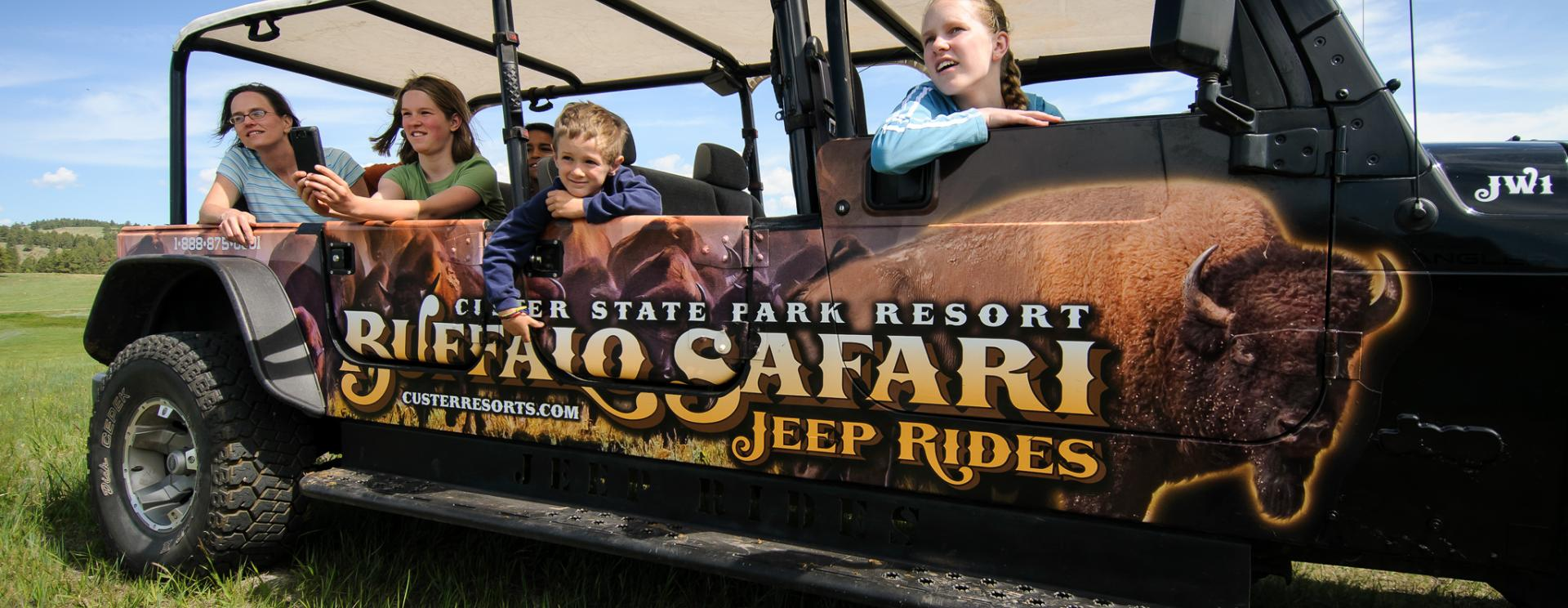 Buffalo Safari Jeep Rides | Custer State Park