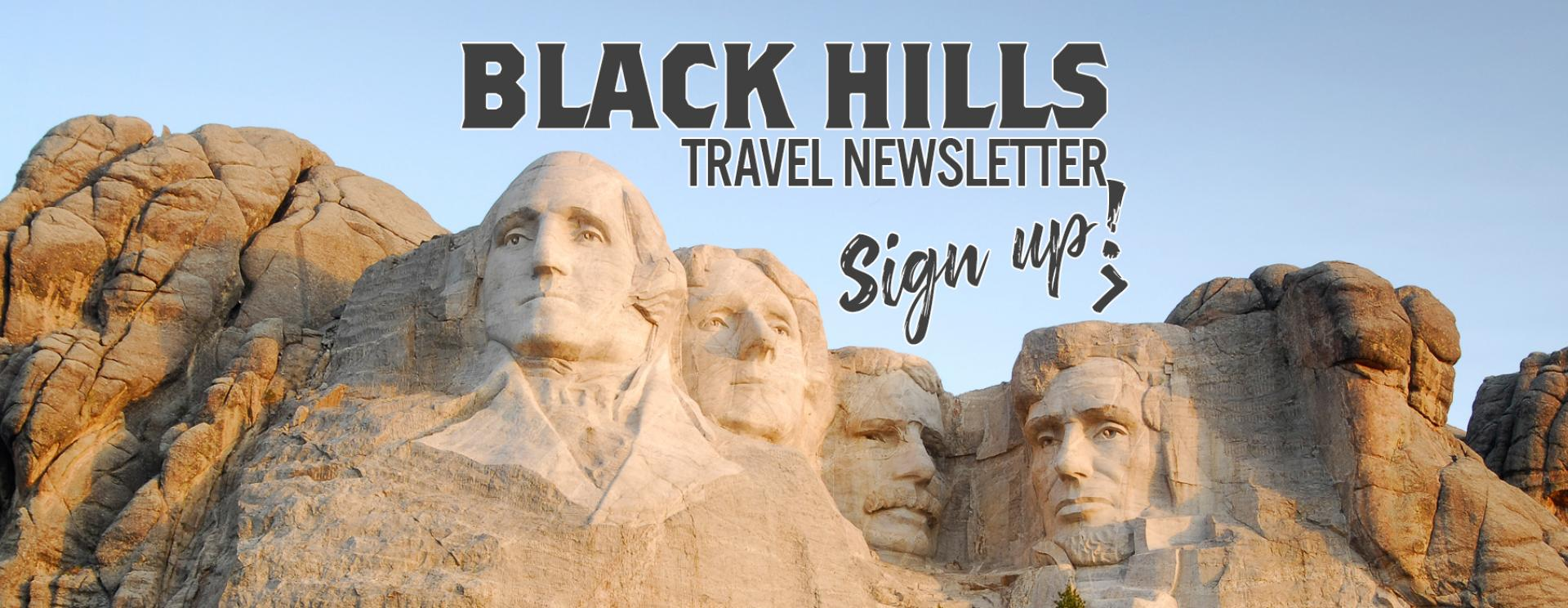 Black Hills Travel Newsletter