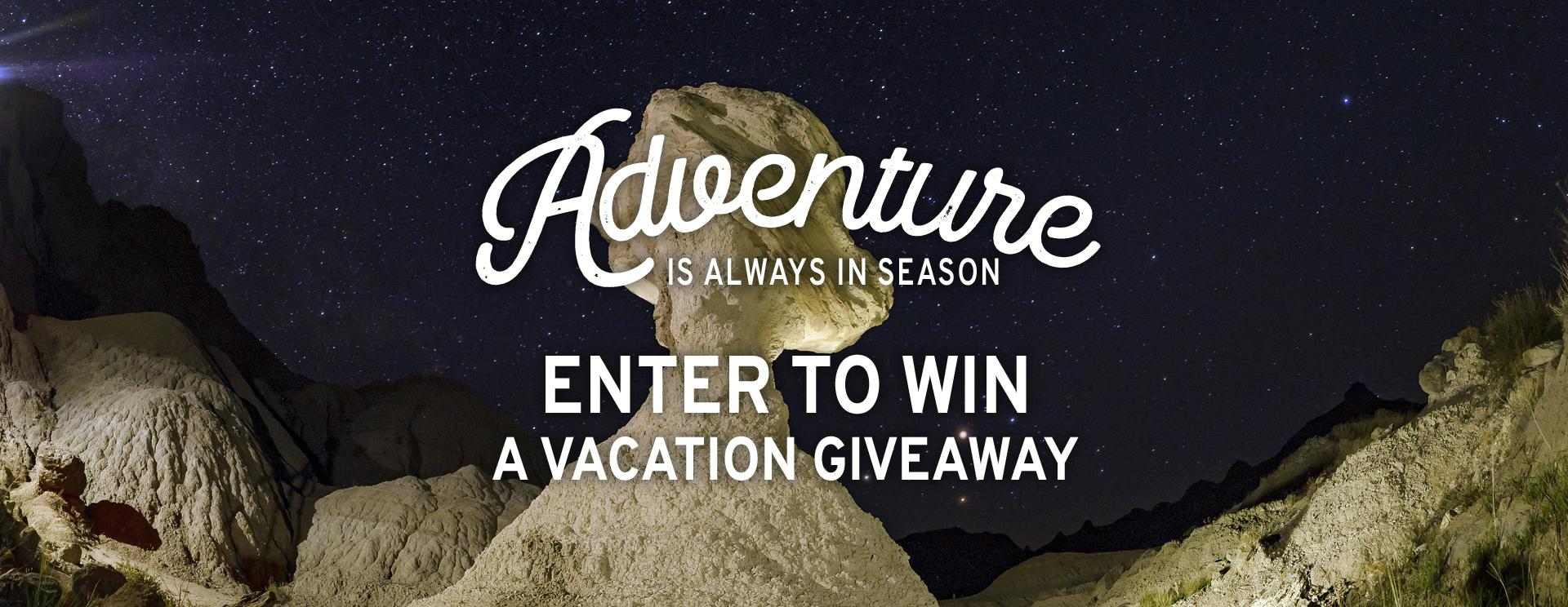 Great Escape Vacation Giveaway for StarTalk Listeners