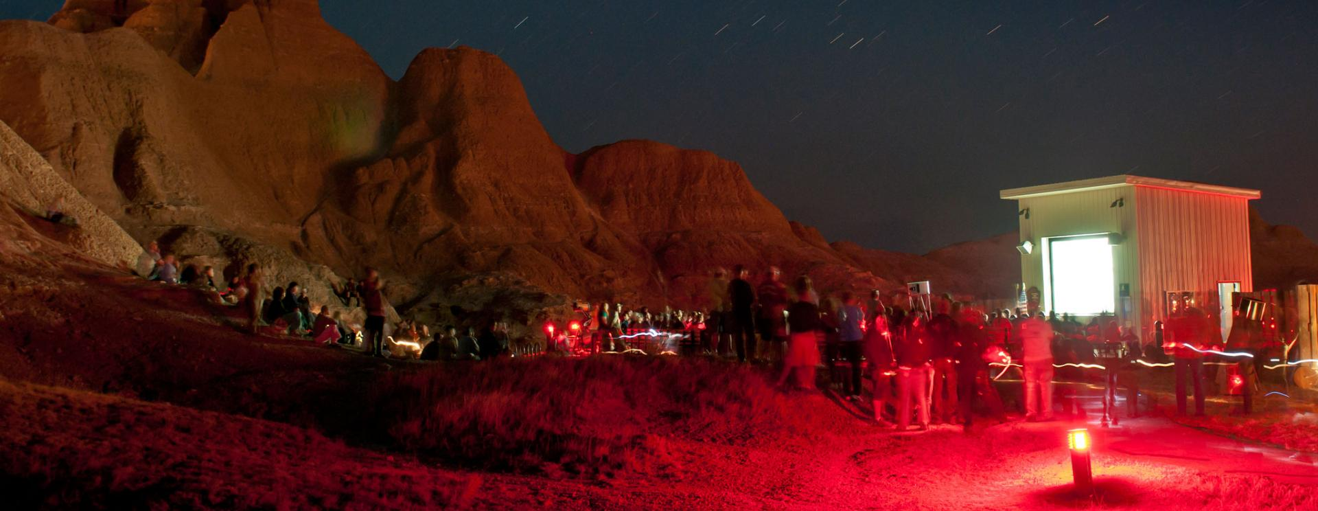 Astronomy and Night Sky Viewing in Badlands National Park
