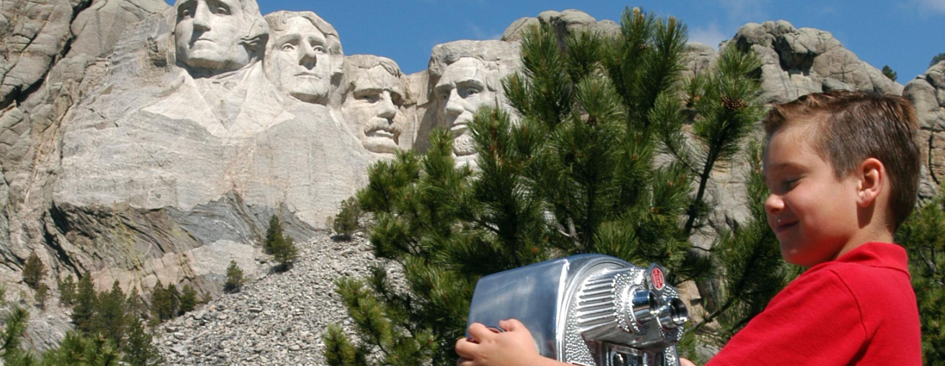 Junior Ranger Program at Mount Rushmore National Memorial