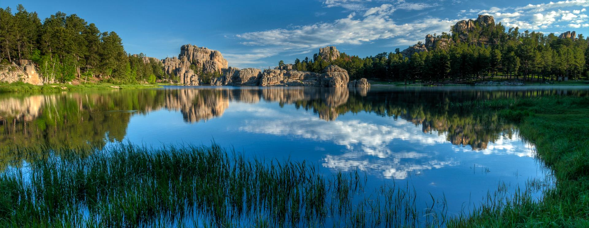Lakes in Custer State Park