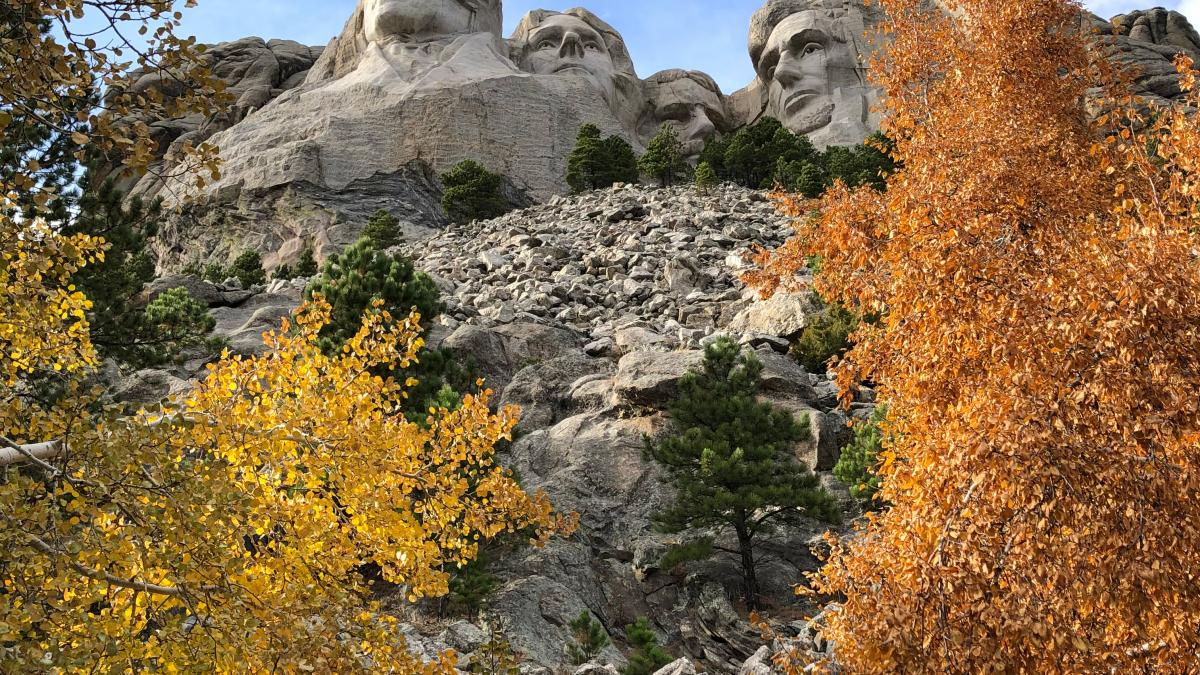 Fall at Mt. Rushmore