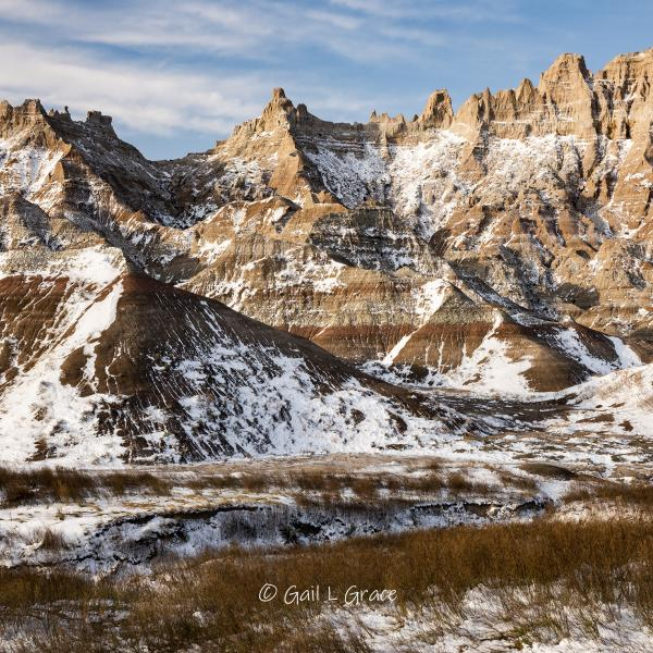 Frosted Badlands