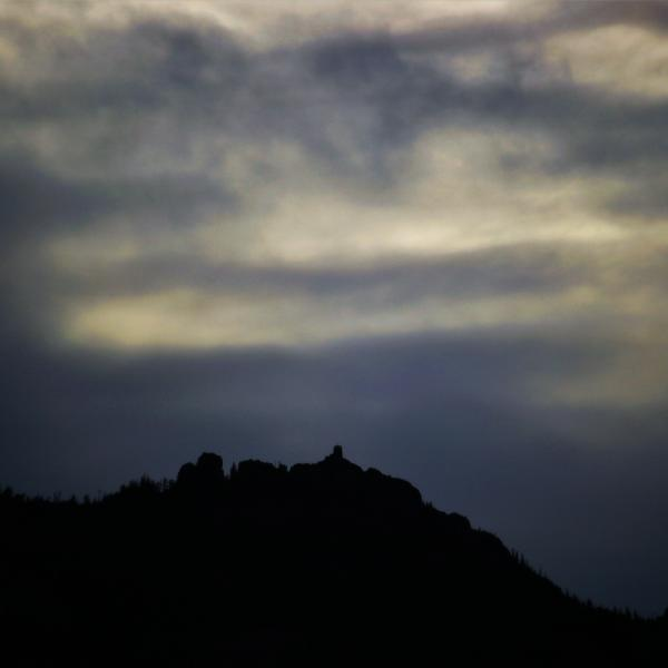 Black Elk Peak on an Eerie October Eve
