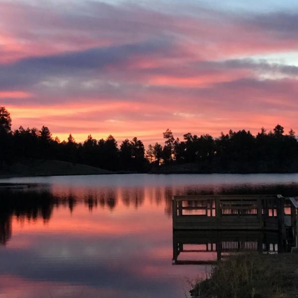 Sunrise at Legion Lake